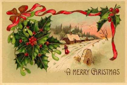 Открытка ретро Merry Christmas ,винтажная картинка на Рождество Открытка картинка открытки картинки ретро,винтаж Merry Christmas,с рождеством,открытка картинка в стиле ретро,винтажная с Рождеством,Merry Christmas retro скачать бесплатно